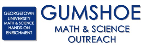 Georgetown University Math & Science Hands-On Enrichment (GUMSHOE) Logo